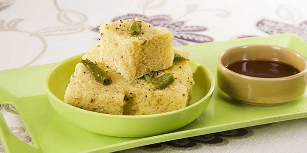 Quick Rava and Vegetable Dhokla